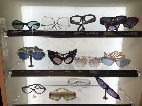 There was such a fabulous range of very cool glasses.