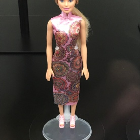 Cheongsam barbie! The ultimate east-west crossover.