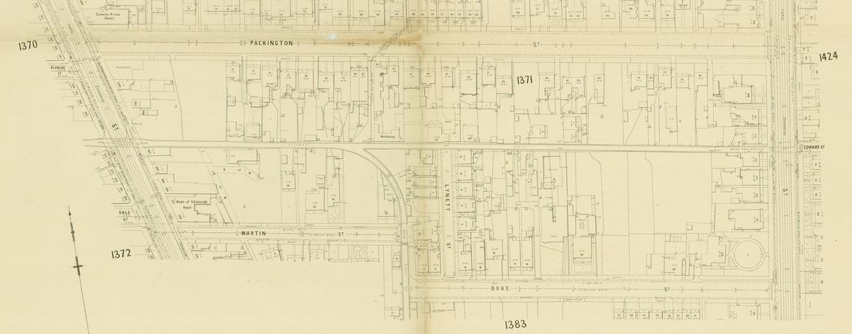 Melbourne Metropolitan Board of Works Detail Plan